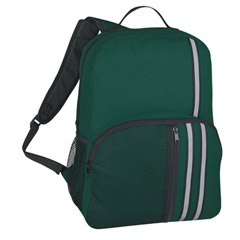 Backpack With Reflective Stripes