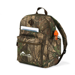 Heritage Supply Camo Computer Backpack
