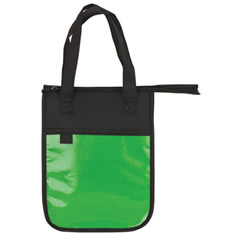 Promotional Custom Imprinted 85 GSM Non-Woven Laminated Polypropylene Lightweight Insulated Lunch Sack Bag